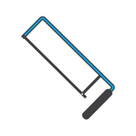 Ilustración de hacksaw blade - Imagen libre de derechos