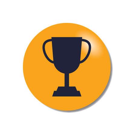 Illustration for trophy - Royalty Free Image