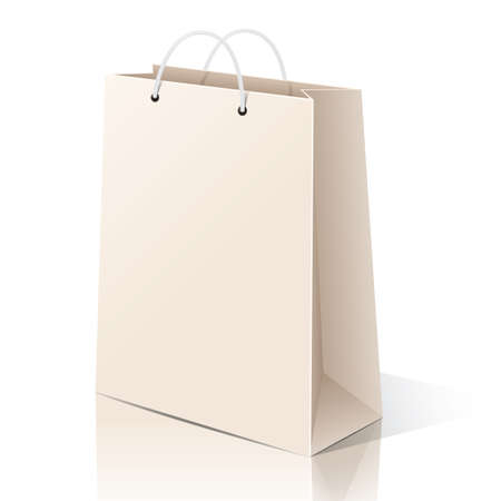 Illustration pour paper bag - image libre de droit