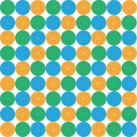 Illustration pour circle pattern background - image libre de droit