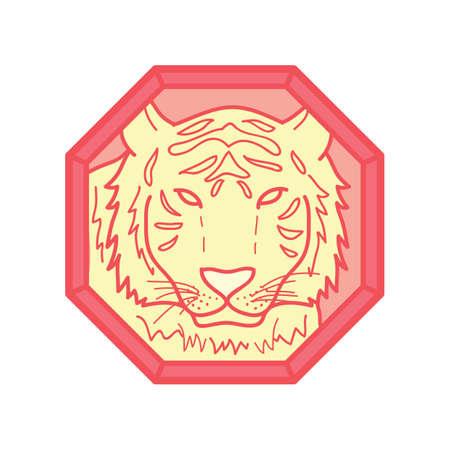Ilustración de tiger - Imagen libre de derechos
