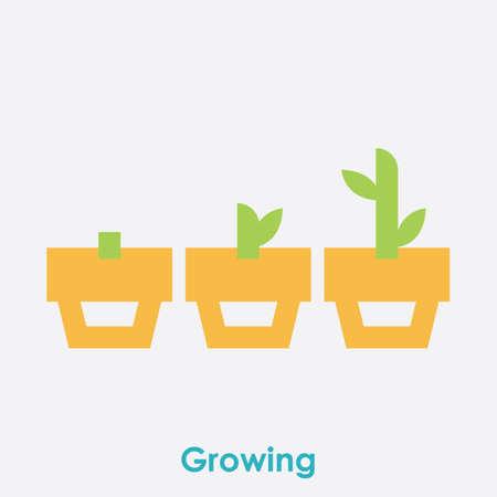 Illustration pour growth concept - image libre de droit