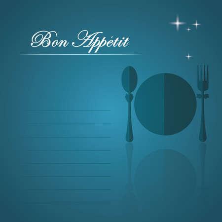 Ilustración de bon appetit - Imagen libre de derechos