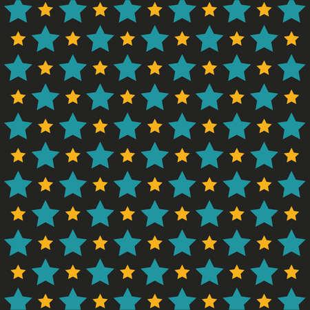 Ilustración de seamless stars background - Imagen libre de derechos