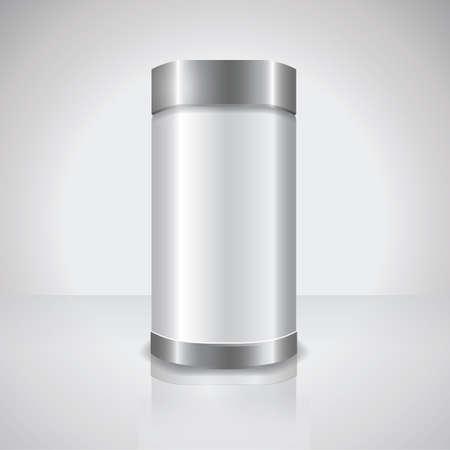 Illustration pour plastic container - image libre de droit