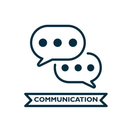 Illustration pour communication - image libre de droit