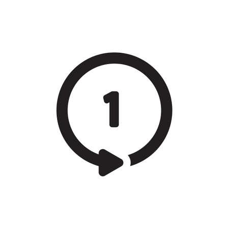 Ilustración de repeat button - Imagen libre de derechos