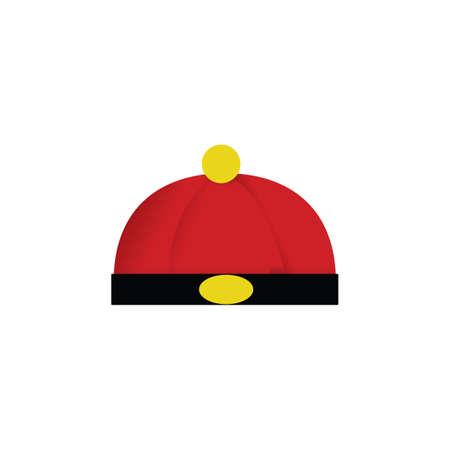 Illustration pour mandarin hat - image libre de droit