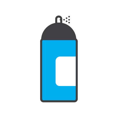 Illustration pour aerosol spray - image libre de droit