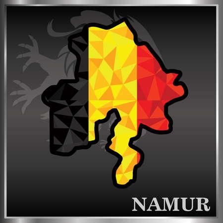 Ilustración de namur wallpaper - Imagen libre de derechos