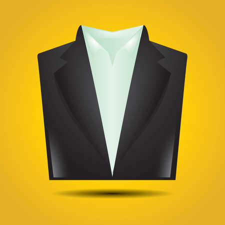 Illustration for suit - Royalty Free Image