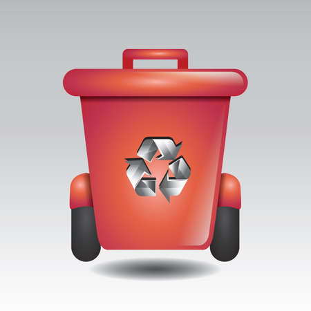 Ilustración de recycle bin - Imagen libre de derechos