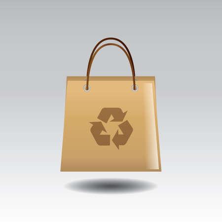 Ilustración de paper bag - Imagen libre de derechos