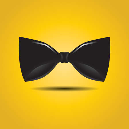 Illustration for bow tie - Royalty Free Image