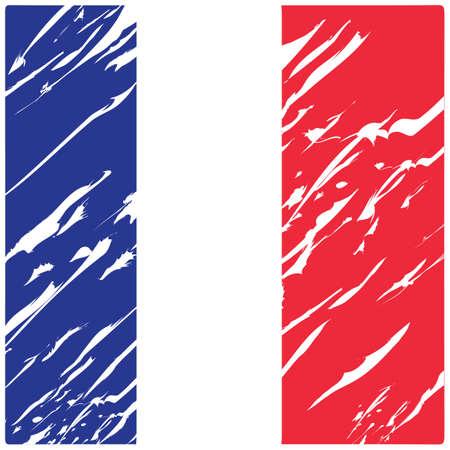 Illustration pour france flag abstract background - image libre de droit