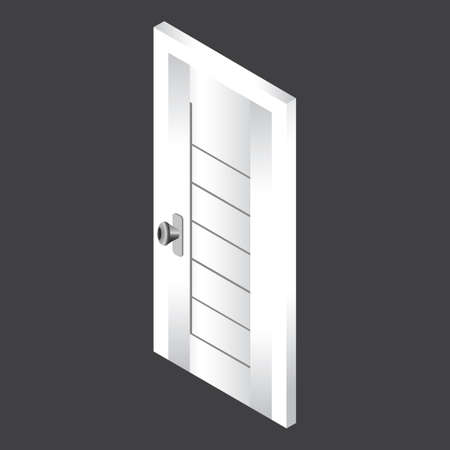 Illustration for door - Royalty Free Image