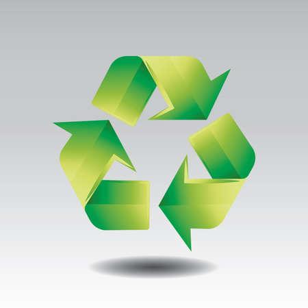 Ilustración de recycle symbol - Imagen libre de derechos