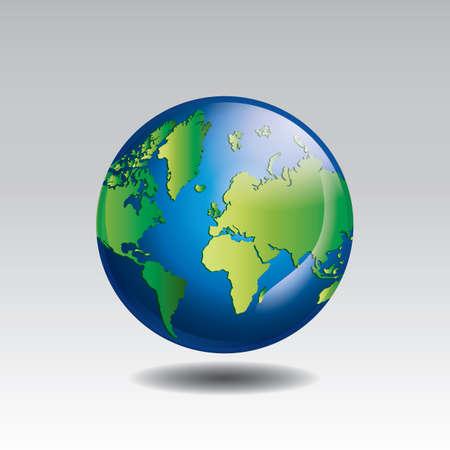 Illustration pour save earth concept - image libre de droit