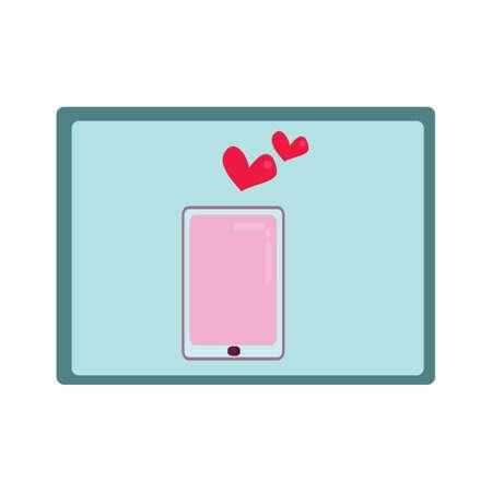 Illustration pour smartphone - image libre de droit