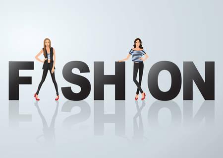 Ilustración de fashion - Imagen libre de derechos