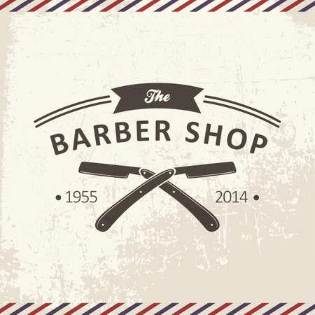 Ilustración de the barber shop - Imagen libre de derechos