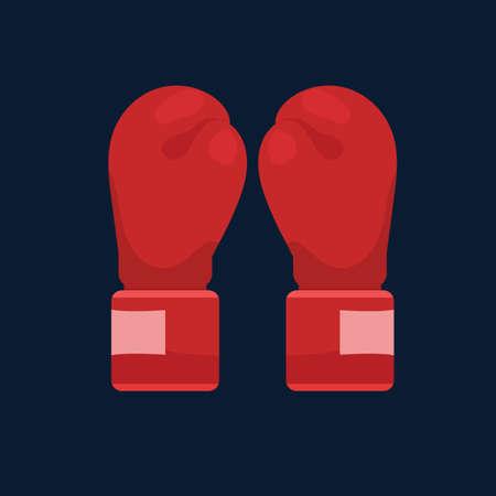 Ilustración de Boxing gloves - Imagen libre de derechos