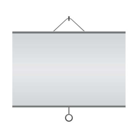 Illustration for projection screen - Royalty Free Image