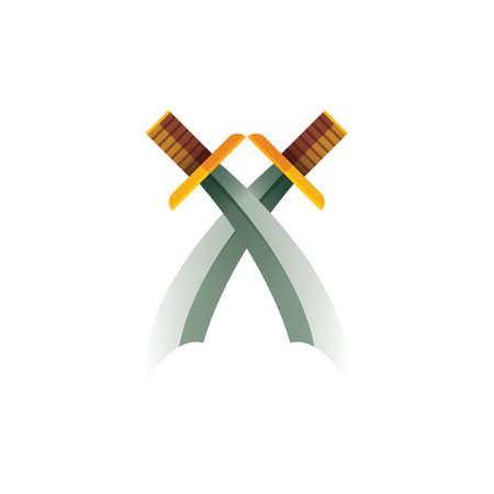 Ilustración de swords - Imagen libre de derechos