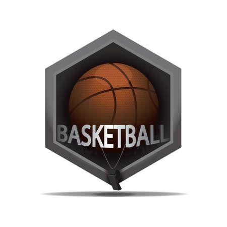 Illustration pour Basketball icon - image libre de droit