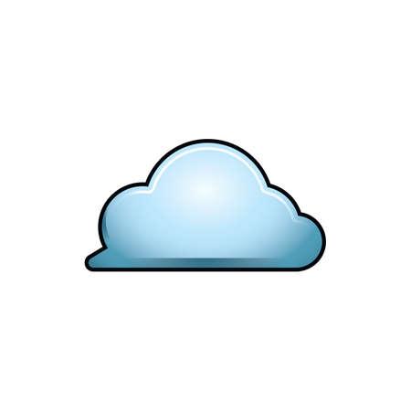Illustration pour cloud - image libre de droit