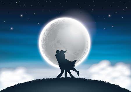Illustration pour love fantasy - image libre de droit