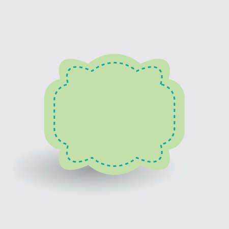 Ilustración de Label design - Imagen libre de derechos