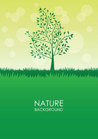 Ilustración de nature background - Imagen libre de derechos