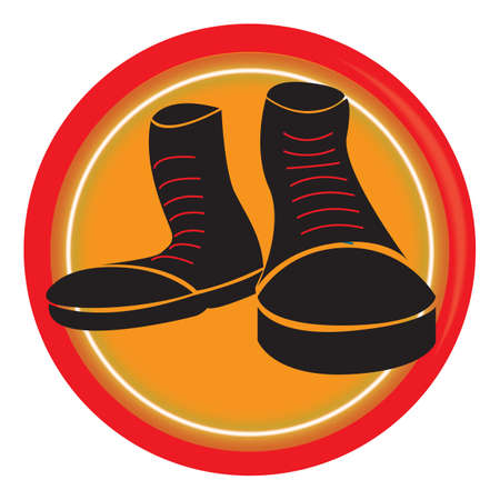 Ilustración de boots - Imagen libre de derechos