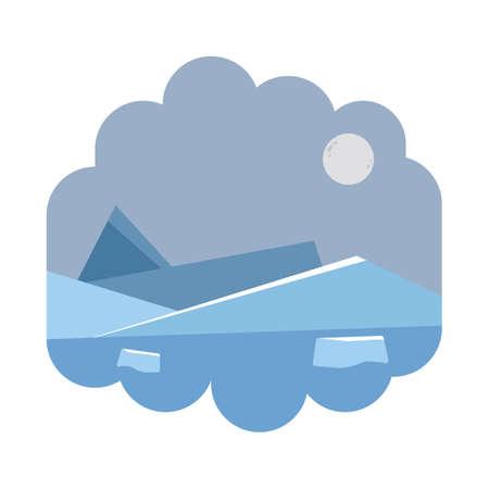 Illustration pour north pole - image libre de droit