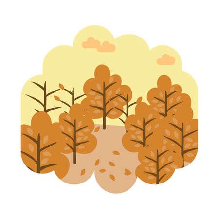 Illustration pour Autumn season - image libre de droit