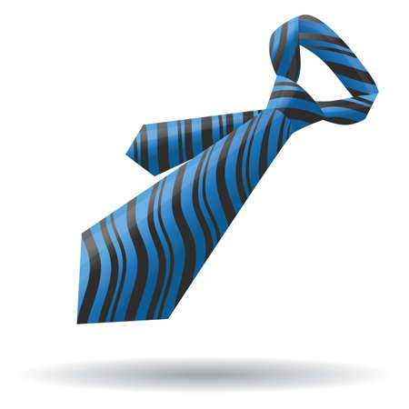 Illustration for neck tie - Royalty Free Image