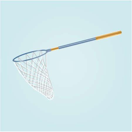 Illustration pour A fishing net illustration. - image libre de droit