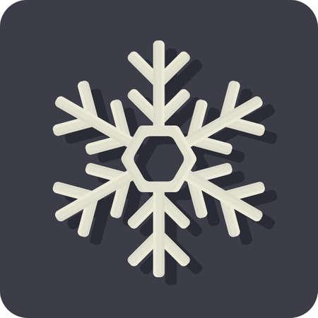 Illustration for snowflake - Royalty Free Image