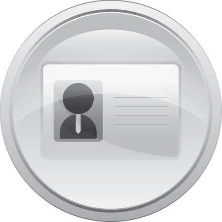Ilustración de identity card - Imagen libre de derechos