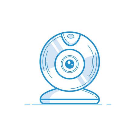 Ilustración de webcam - Imagen libre de derechos