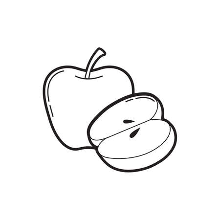Ilustración de apple icon - Imagen libre de derechos