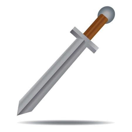 Ilustración de Sword - Imagen libre de derechos