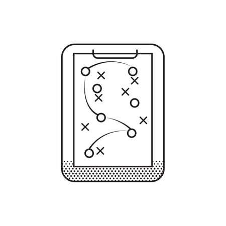 Ilustración de game plan - Imagen libre de derechos