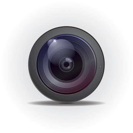 Ilustración de camera lens - Imagen libre de derechos