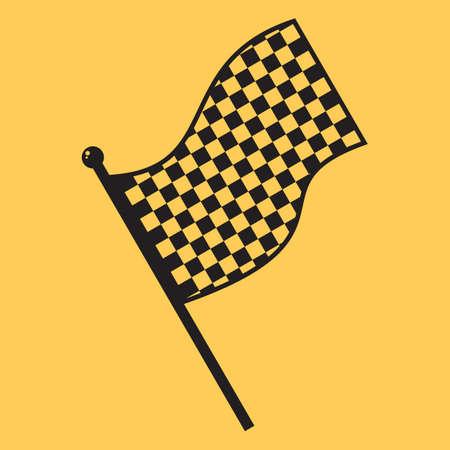 Illustration pour flag - image libre de droit