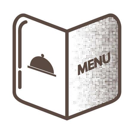 Ilustración de Restaurant menu card - Imagen libre de derechos