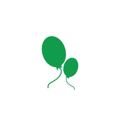 Illustration pour A helium balloons illustration. - image libre de droit