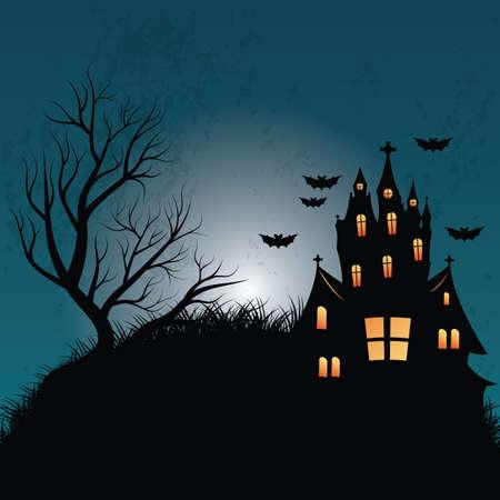 Ilustración de halloween background - Imagen libre de derechos