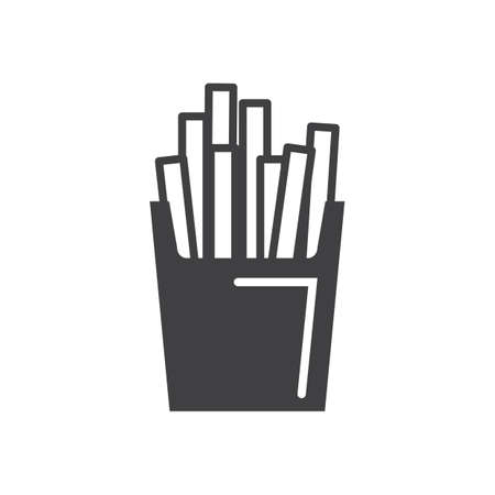 Illustration for French fries - Royalty Free Image